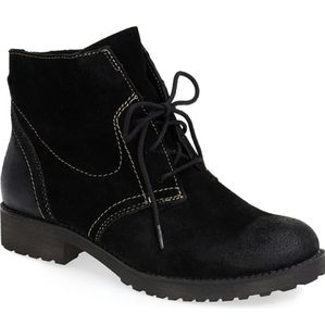 Naturalizer Endellion Suede Leather Boots 7.5 37 5
